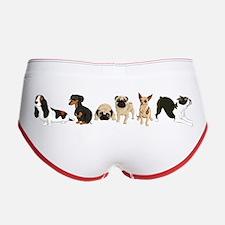 Dogs Line-Up Women's Boy Brief