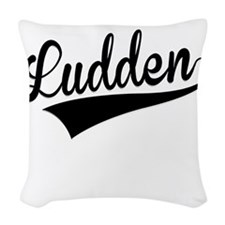 Ludden, Retro, Woven Throw Pillow