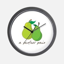 a perfect pair Wall Clock