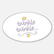 Twinkle Twinkle Decal