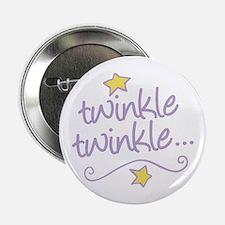 """Twinkle Twinkle 2.25"""" Button"""