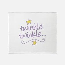 Twinkle Twinkle Throw Blanket