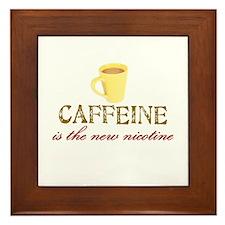 Caffeine/Nicotine Framed Tile