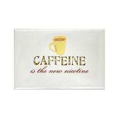 Caffeine/Nicotine Rectangle Magnet (100 pack)