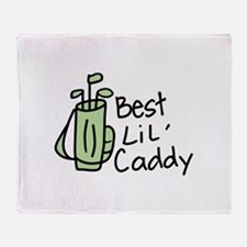 Best Lil Caddy Throw Blanket