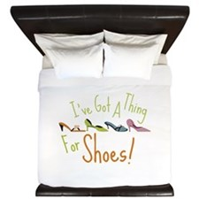 Ive Got A Thing For Shoes! King Duvet