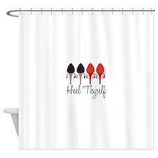 Heel Thyself Shower Curtain
