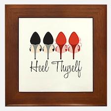 Heel Thyself Framed Tile