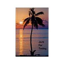 Just For Today Rectangle Magnet (10 pack)