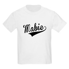 Mabie, Retro, T-Shirt