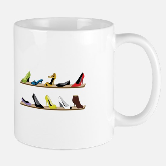 Heeled Shoe Stack Mugs