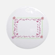 Baby Frame Ornament (Round)