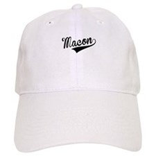 Macon, Retro, Baseball Baseball Cap
