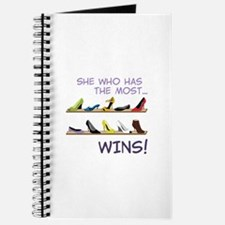 She Who Has The Most.. WINS! Journal