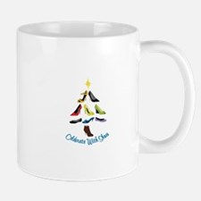 Celebrate With Shoes Mugs