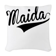 Maida, Retro, Woven Throw Pillow