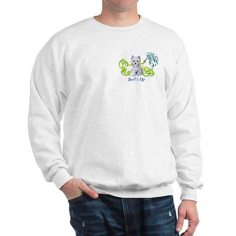 Westie Surf's Up Terrier Sweatshirt