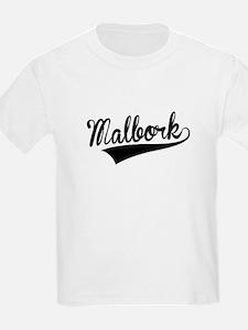 Malbork, Retro, T-Shirt