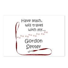 Gordon Leash Travel Postcards (Package of 8)