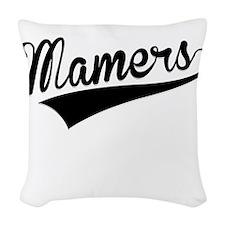 Mamers, Retro, Woven Throw Pillow