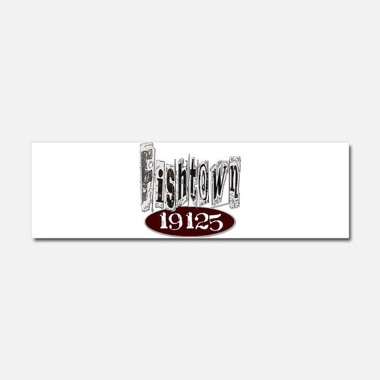 Unique Philadelphia Fishtown Car Magnet 10 x 3