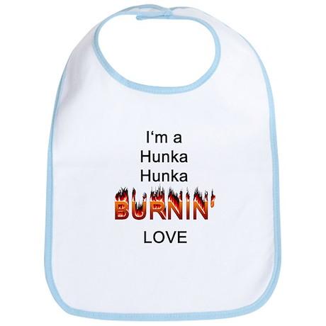 Hunk a Burnin' Love Bib