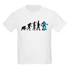 evolution of man cyborg robotor T-Shirt
