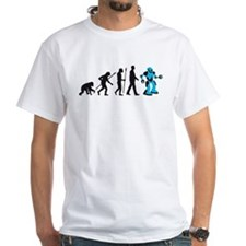 evolution of man cyborg robotor T-Shirt