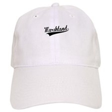 Marshland, Retro, Baseball Baseball Cap