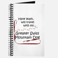 Swissy Travel Leash Journal