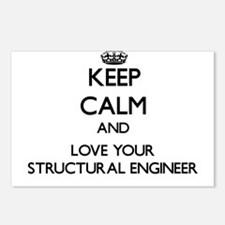 Keep Calm and Love your Structural Engineer Postca