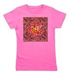 Optical Illusion Sphere - Pink Girl's Tee