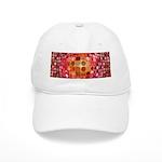 Optical Illusion Sphere - Pink Baseball Cap