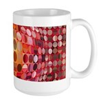 Optical Illusion Sphere - Pink Mugs