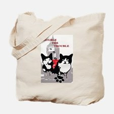 Cats Double the Trouble Tote Bag