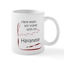 Havanese Travel Leash Mug