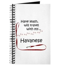 Havanese Travel Leash Journal