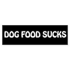 """""""Dog Food"""" Bumper Bumper Sticker"""