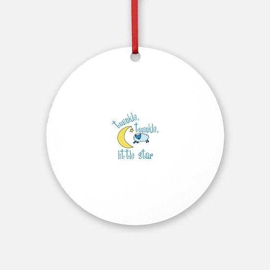 twinkle, twinkle, little star Ornament (Round)