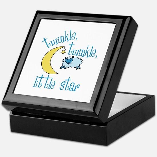 twinkle, twinkle, little star Keepsake Box