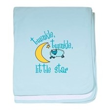 twinkle, twinkle, little star baby blanket