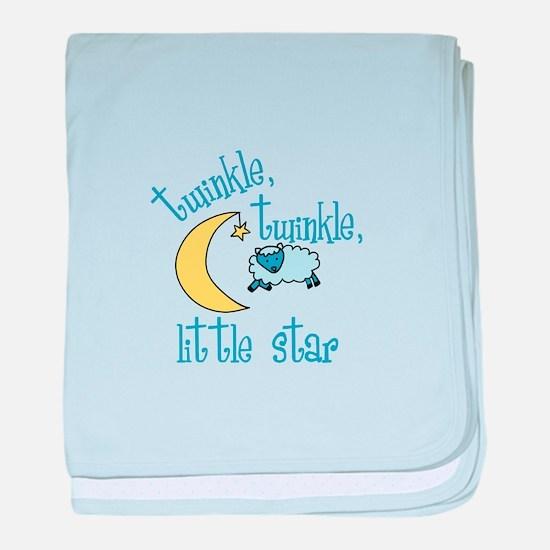 twinkle, twinkle, little star baby blanket