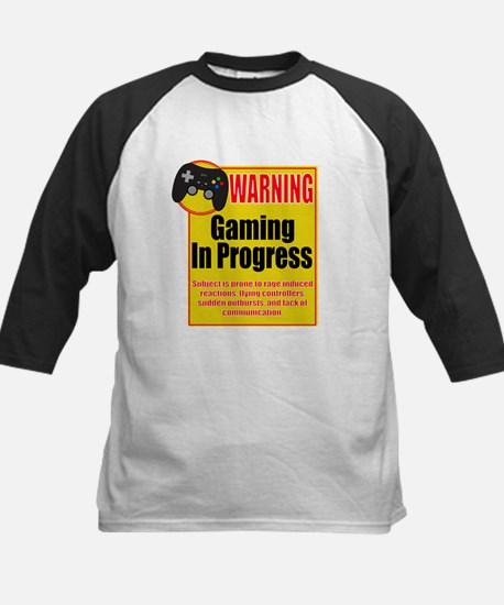 Gaming In Progress Baseball Jersey
