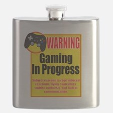 Gaming In Progress Flask