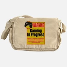 Gaming In Progress Messenger Bag