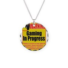 Gaming In Progress Necklace