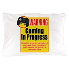 Gaming In Progress Pillow Case