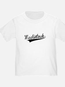 Mcclintock, Retro, T-Shirt