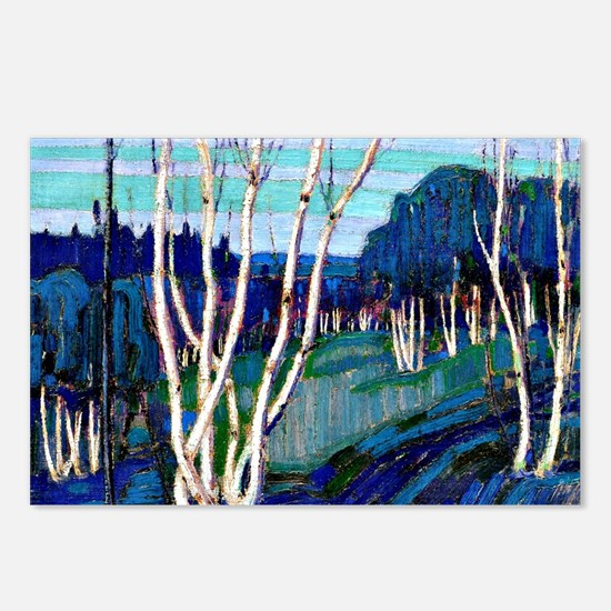 Tom Thomson - Silver Birc Postcards (Package of 8)
