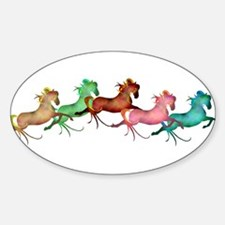 amany horses Decal